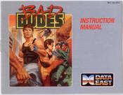 Bad Dudes - NES Manual