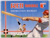 R.B.I. Baseball - NES Manual