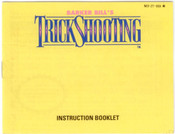 Barker Bill's Trick Shooting - NES Manual