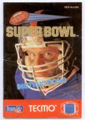 Tecmo Super Bowl Football - NES Manual