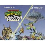 Teenage Mutant Ninja Turtles III Manual For Nintendo NES