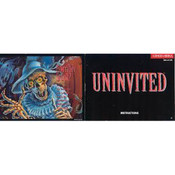 Uninvited Manual For Nintendo NES