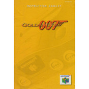 007 GoldenEye (James Bond) - N64 Manual