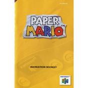Paper Mario Manual For Nintendo N64