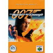007 The World is Not Enough - N64 Manual