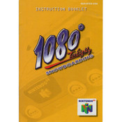 1080 Ten Eighty Snowboarding - N64 Manual