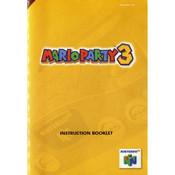 Mario Party 3 Manual For Nintendo N64