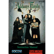 Addams Family, The - SNES Manual