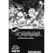 Super Bomberman Manual For Nintendo SNES