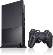 Sony Playstation 2 PS2 Slim Black System with 1 Controller