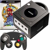 GameCube Black Mario Console Bundle Pak for sale