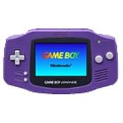 Game Boy Advance System Purple