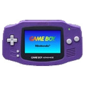Game Boy Advance System Purple