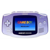 Game Boy Advance System Silver