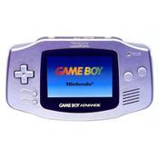 Game Boy Advance System Silver