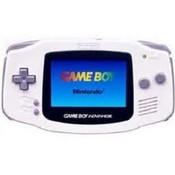 Game Boy Advance System White