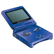 Game Boy Advance SP System Blue