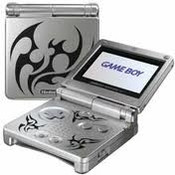 Game Boy Advance SP Tribal with Charger