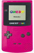 Game Boy Color System Pink