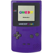 Game Boy Color System Purple