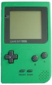 Game Boy Pocket System Green