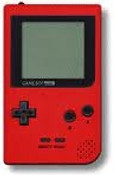 Game Boy Pocket System Red