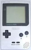 Game Boy Pocket System Silver