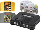 N64 Donkey Kong Pak