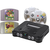 N64 Mario Zelda Pak