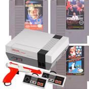 Original NES Tecmo, Tyson, Mario Zapper Pak