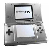 Nintendo DS Silver with Charger