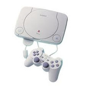 PSOne Console with 1 Controller and Cords