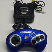 Sega Genesis Blue 6 in 1 Plug and Play TV Game