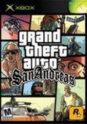 Grand theft Auto San Andreas - Xbox Game