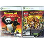 Lego Indiana Jones & Kung Fu Panda Combo - Xbox 360 Game