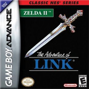 "Adventure of Link ""Classic NES Series"" - Game Boy Advance"