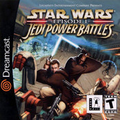 Complete Star Wars Ep1 Jedi Power Battles - Dreamcast Game
