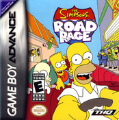 Simpson's Road Rage - Game Boy Advance