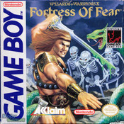 Wizards & Warriors X Fortress Of Fear - Game Boy