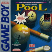 Championship Pool - Game Boy