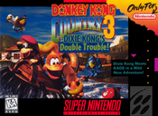 Complete Donkey Kong Country 3 - SNES
