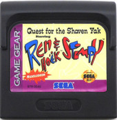 Quest For The Shaven Yak Ren & Stimpy - Game Gear