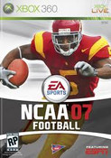 NCAA Football 07 - Xbox 360 Game