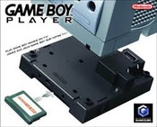 Black GameBoy Player - GameCube