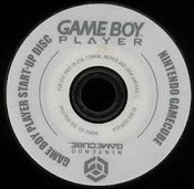 Game Boy Player Start-Up Disc- GameCube