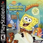Sponge Bob Square Pants Super Sponge - PS1 Game