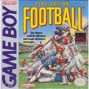 Play Action Football Complete Game For Nintendo GameBoy