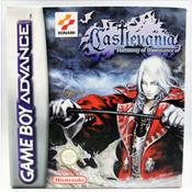 Complete Castlevania Harmony of Dissonance- GameBoy Advance