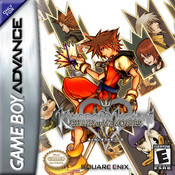 Complete Kingdom Hearts Chain of Memories - Game Boy Advance