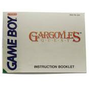 Gargoyles Quest Manual For Nintendo GameBoy